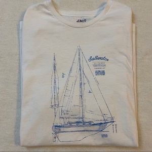 Izod saltwater relaxed classics tee sailing S